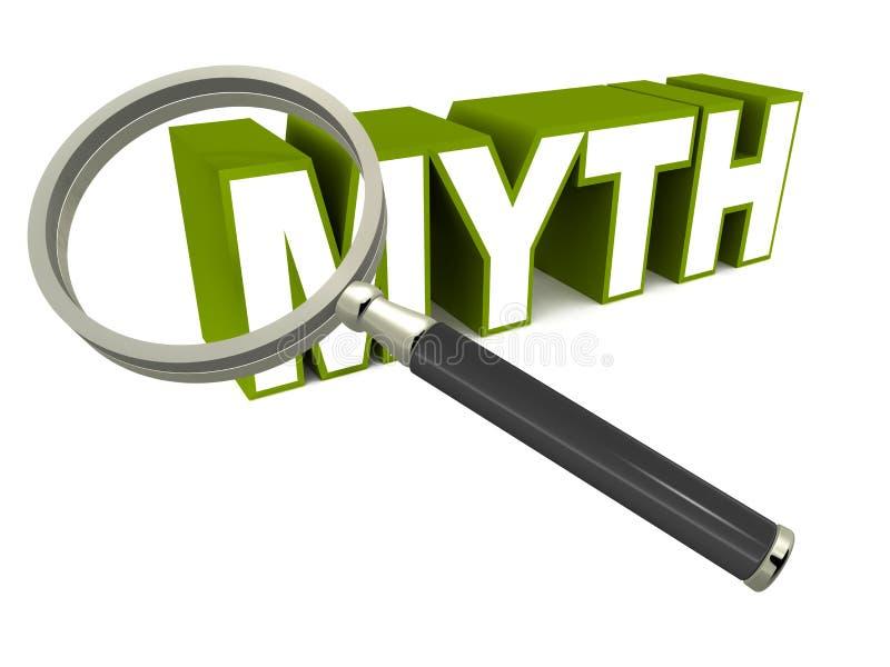Mythe stock illustratie