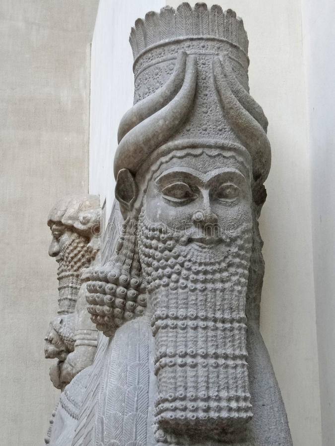 Download Mythical Beast Of Assyria, Royalty Free Stock Images - Image: 24659719