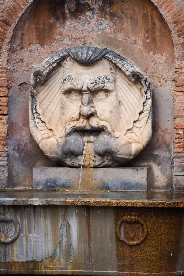 Mythologic face stock photos
