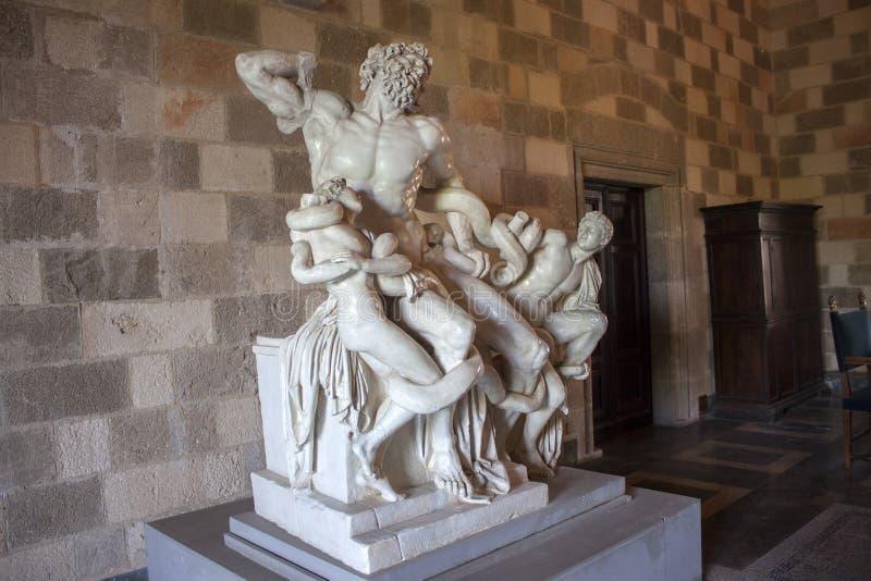 Mythologie de Laocoon, grecque et romaine photo stock