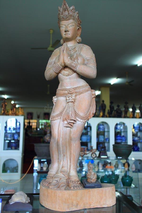 Mythologie thaïlandaise Angel Statues images libres de droits