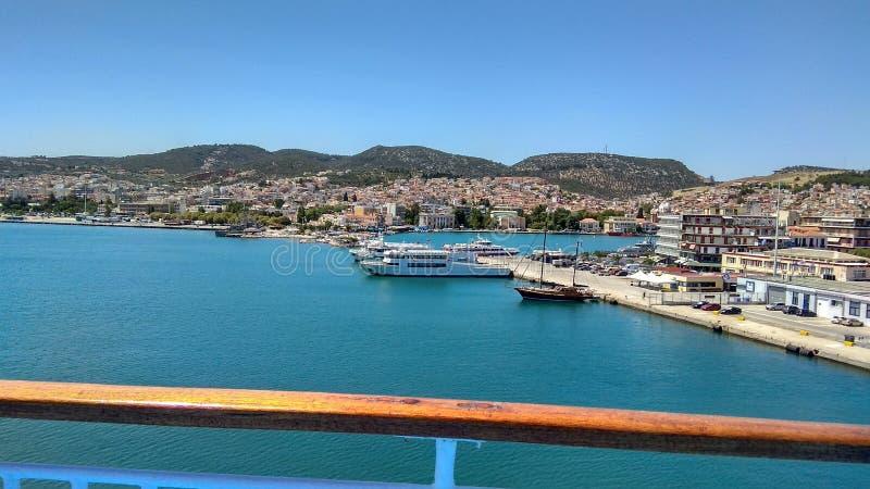 Mytilene greece imagem de stock royalty free