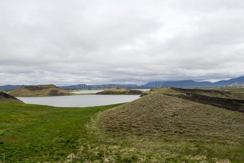 Myvatn Lake Iceland stock photos