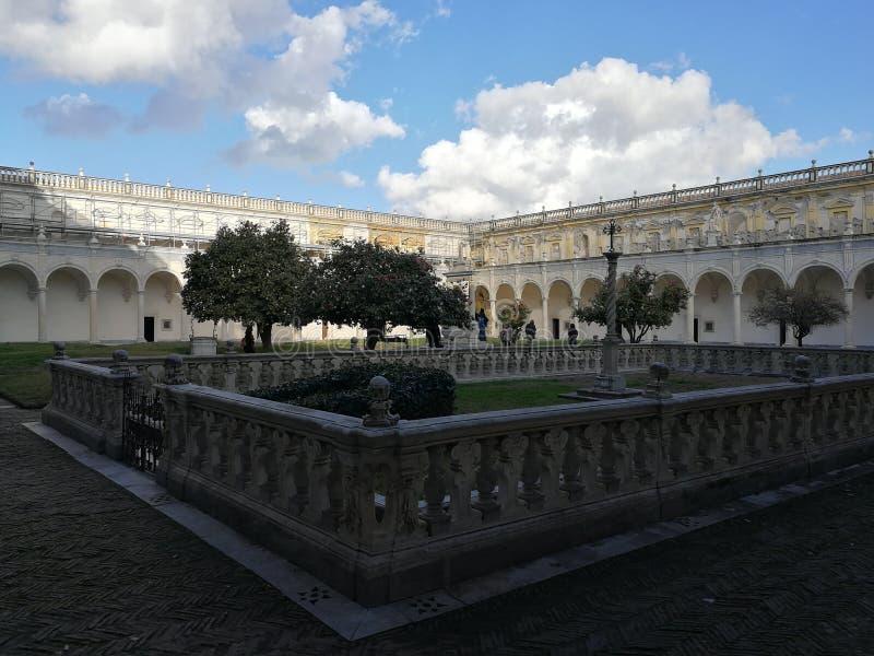 Nápoles - cementerio de Fanzaghian fotos de archivo libres de regalías