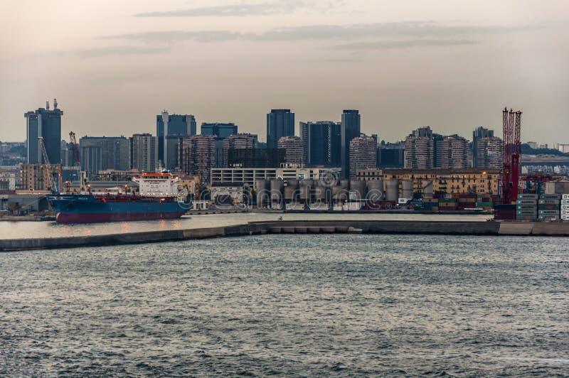 Nápoles do mar imagens de stock royalty free
