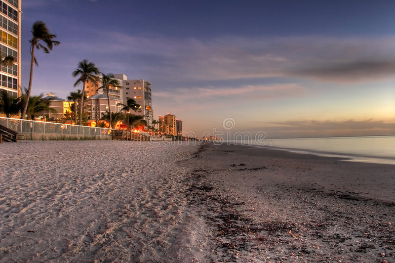 Nápoles la Florida imagen de archivo libre de regalías