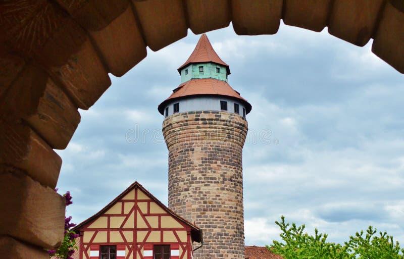 NÃ-¼ rnberg - Kaiserburg lizenzfreies stockbild