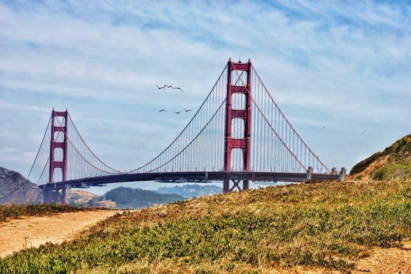 Não assim golden gate bridge fotos de stock
