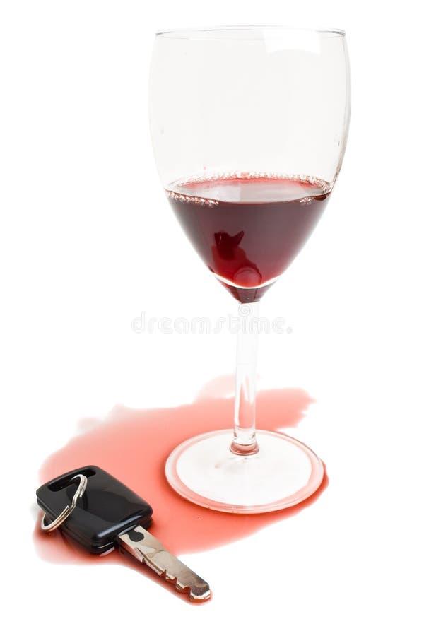 Não beba e não conduza o conceito fotos de stock