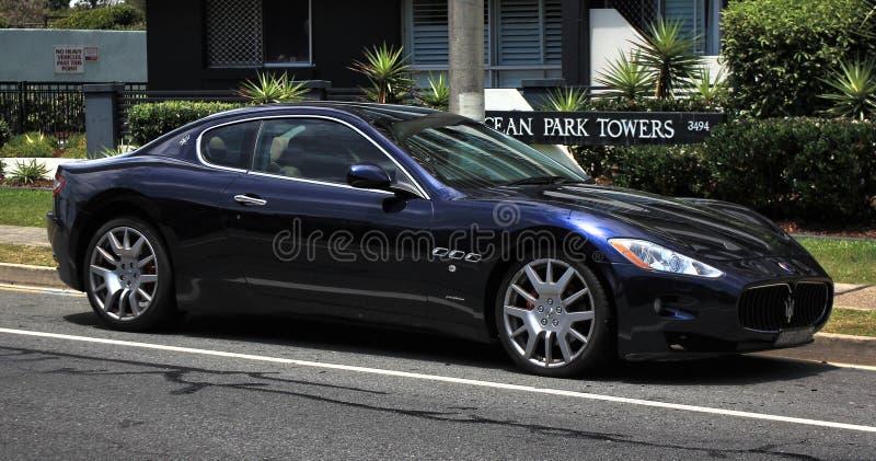 Não editado clássico italiano, Maserati foto de stock royalty free