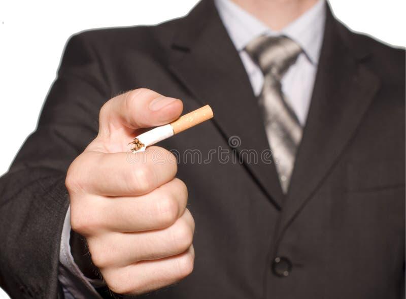 Não fumadores. fotografia de stock royalty free
