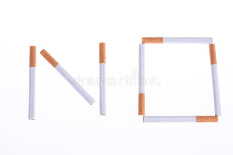 Não fume imagens de stock royalty free