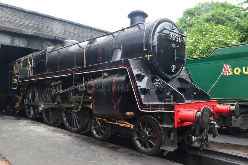 Não 73156 locomotiva da classe 5 do padrão fotos de stock royalty free
