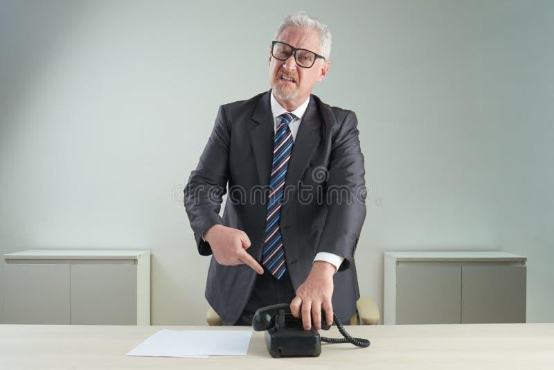 Não mais telefonemas foto de stock royalty free