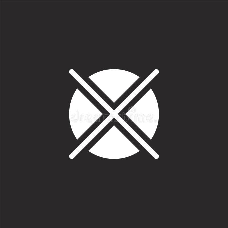 não secar ícone Ícone não seco preenchido para design de site e desenvolvimento de aplicativo móvel não secar ícone da roupa chei ilustração do vetor