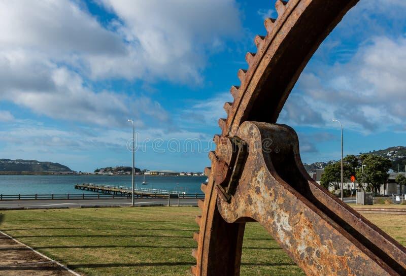 Nähe von Wellington, Neuseeland stockfoto