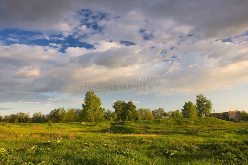 Download Nähernder Sturm stockfoto. Bild von baum, wolke, sturm - 12201064