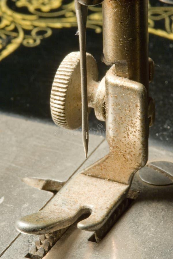 Nähmaschine-Nadel lizenzfreies stockbild