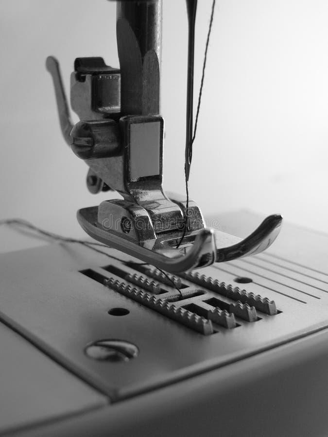 Nähmaschinenahaufnahme lizenzfreie stockfotografie