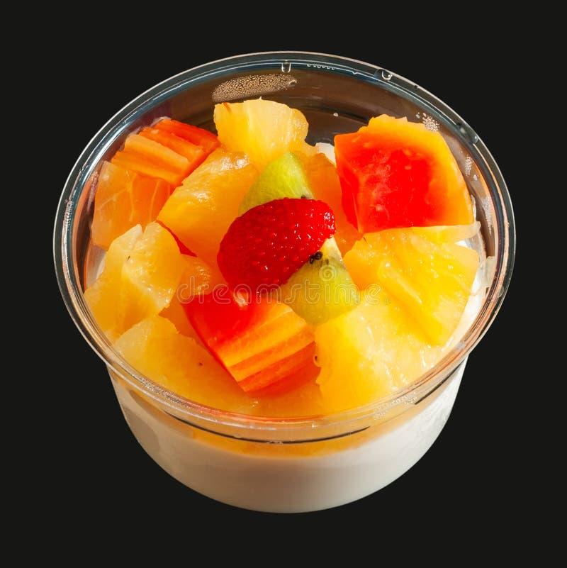 Download Nährbodentofu-Fruchtsalat stockbild. Bild von süßigkeiten - 26371643