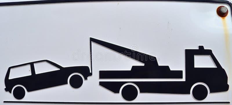 Nära övre sikt på olikt tecken och symboler som finnas på europeiska gator vektor illustrationer
