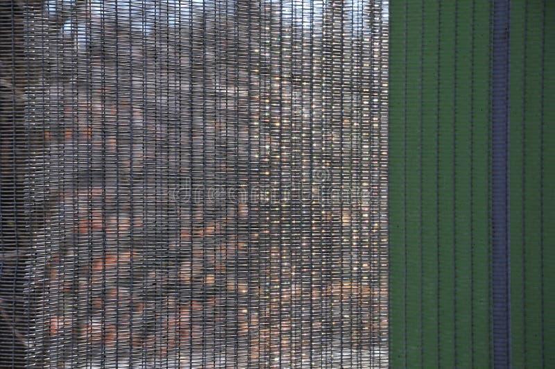 Närbild av ett ingrepp av rostfritt stål i solljus royaltyfri bild