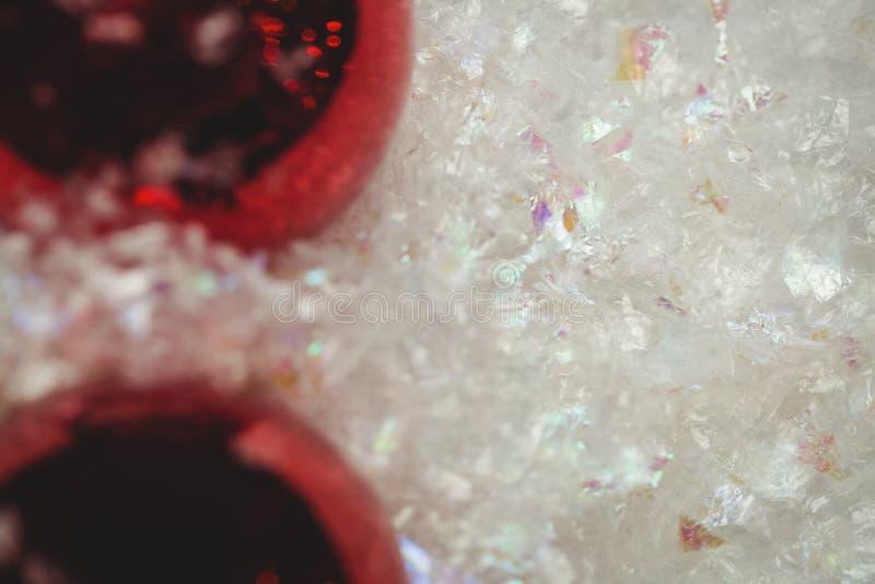 Download Närbild Av Julstruntsaker På Snö Arkivfoto - Bild av glatt, kreativitet: 78725128