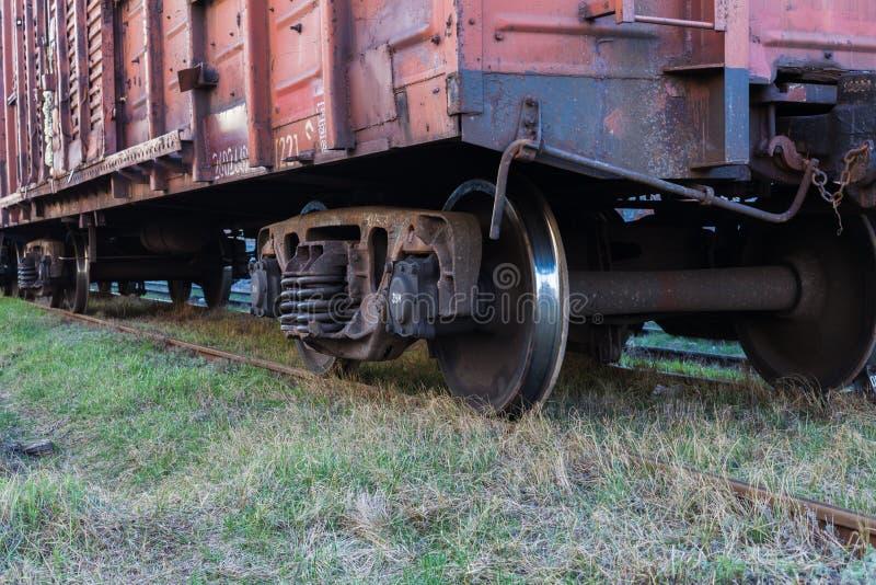 Närbild för stångfraktbil fotografering för bildbyråer