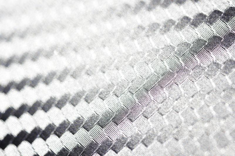 Närbild för textur för kolfiberväv arkivbilder
