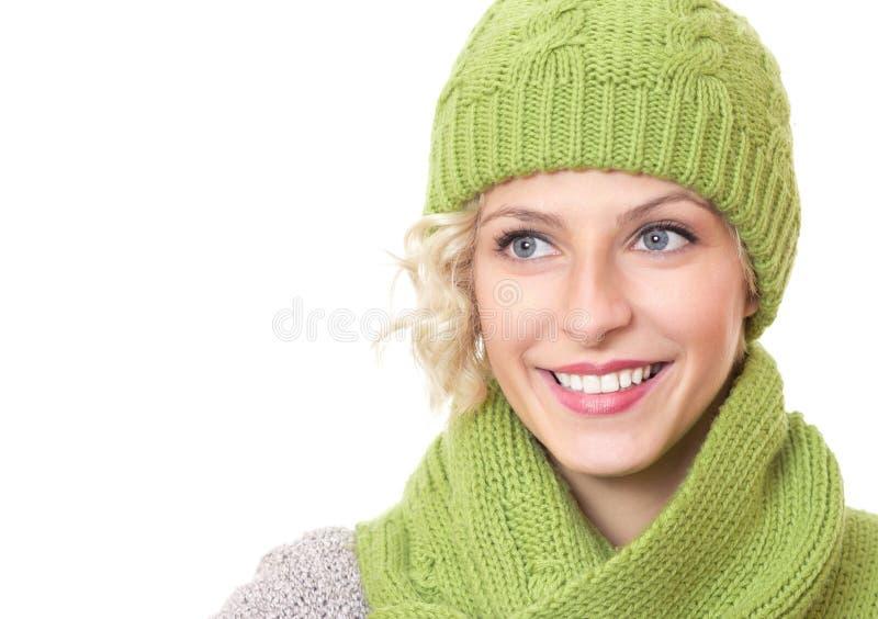 Närbild som skrattar den lyckliga skolläraren royaltyfri foto