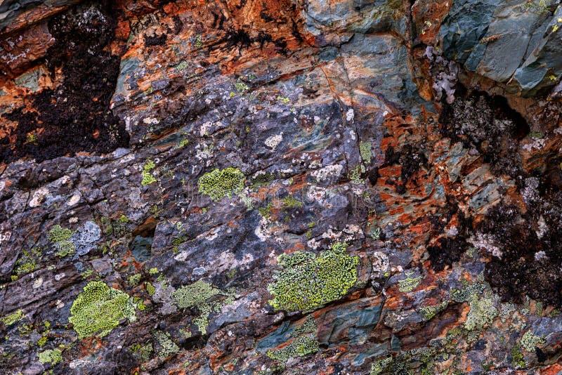 Närbilden av gråa stenar av berget vaggar royaltyfri foto