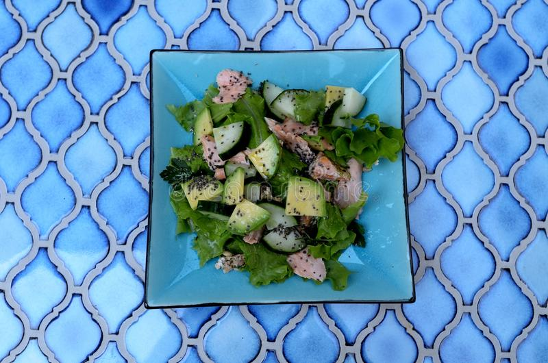 Näringsrik sund lunch arkivfoton