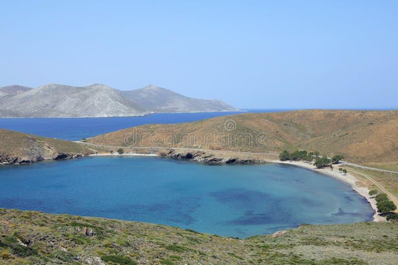 Näs av ön Astypalea, Grekland arkivfoton