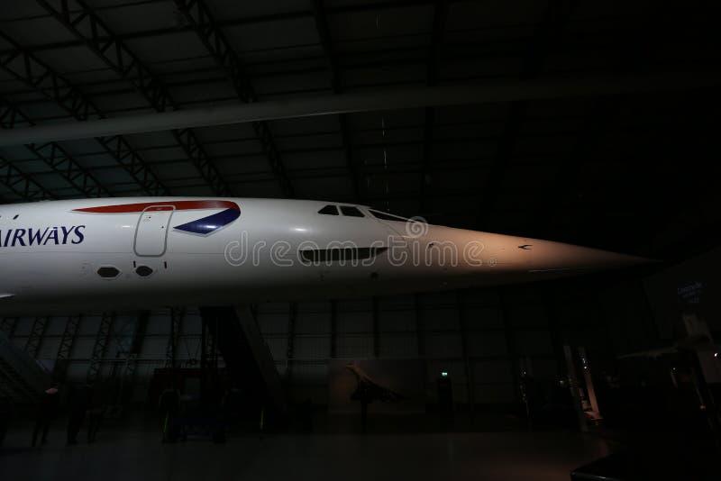 Näsa av Concorden royaltyfri foto