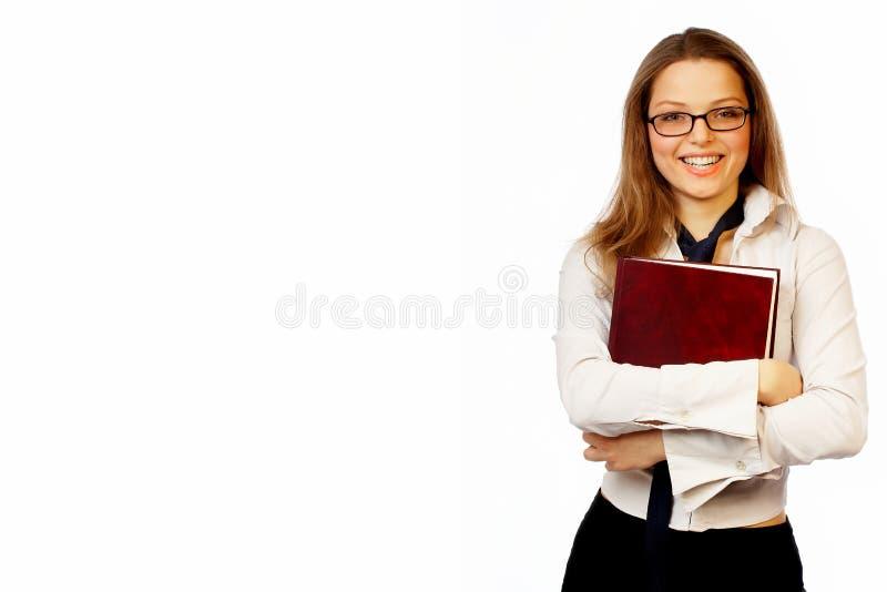Download Nätt affärskvinna arkivfoto. Bild av businesspeople, finans - 508058