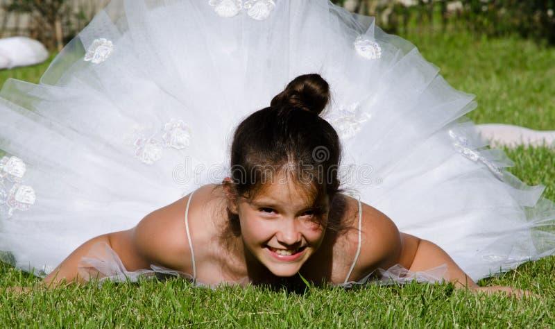 nätt ballerina royaltyfri fotografi