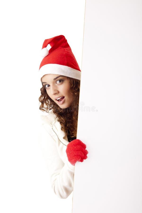 nätt flicka för 3 jul royaltyfri fotografi