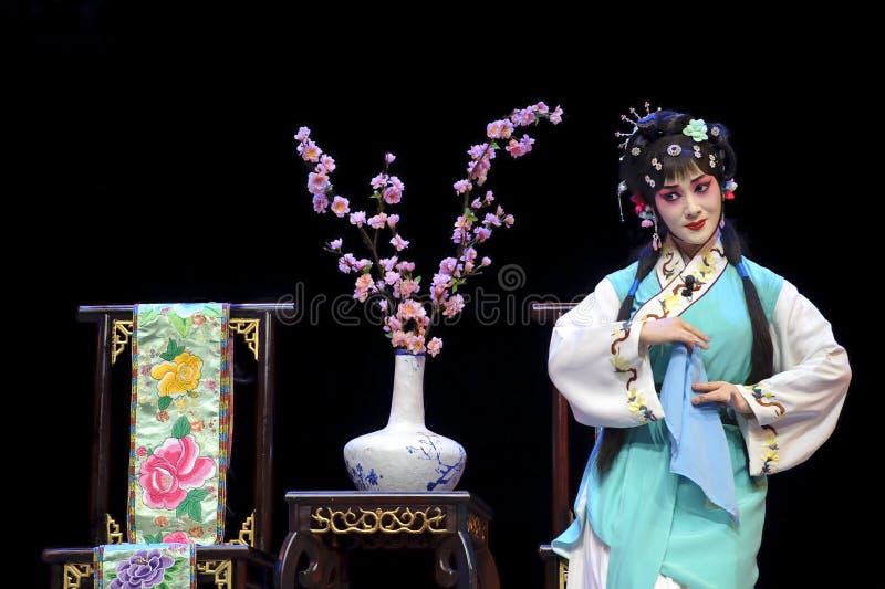 nätt kinesisk opera för aktris royaltyfria bilder