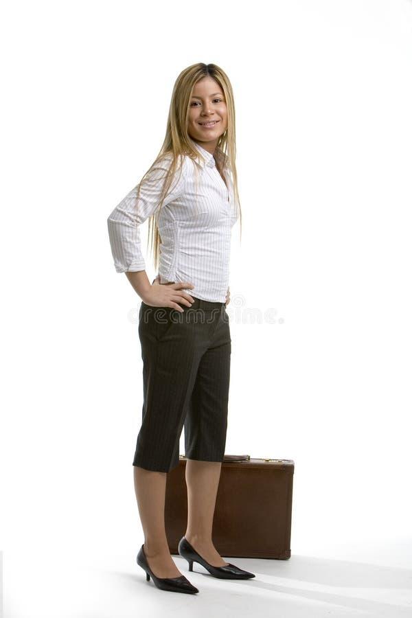 Download Nätt kvinna för affär arkivfoto. Bild av skor, karriär - 519120
