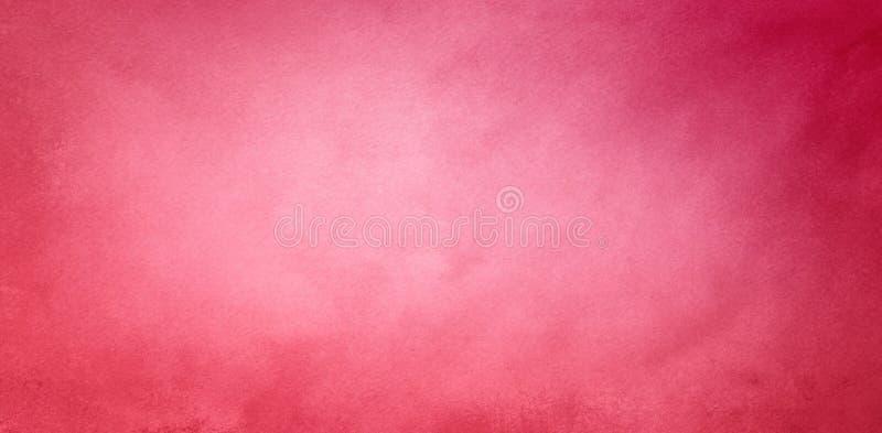 Nätt rosa bakgrund i mjuka burgundy malvafärgade och rosa rosa färger färgar med tappningtextur royaltyfria foton