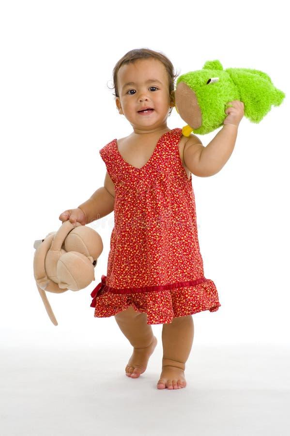 nätt thai för engelsk flicka arkivbild