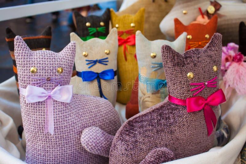 Nätta katter arkivbilder