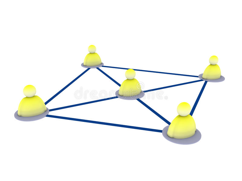nätverk vektor illustrationer