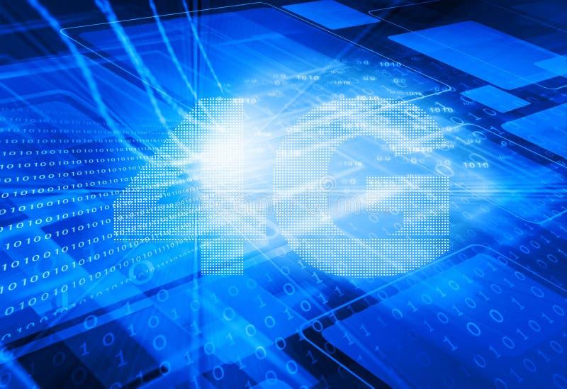 nätverk 4G vektor illustrationer