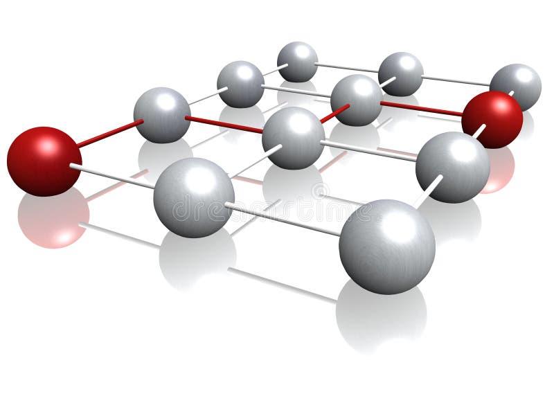 nätverkande vektor illustrationer