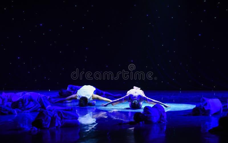 Någon dödad- Yellow River Kör-grupp dans arkivfoto