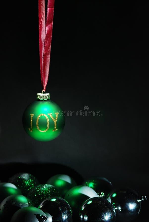 Någon julGLÄDJE fotografering för bildbyråer