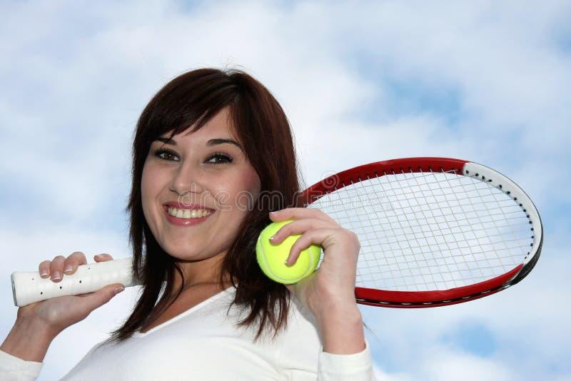 någon tennis royaltyfria foton