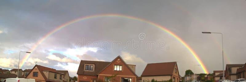 Någonstans över raindowen royaltyfri foto
