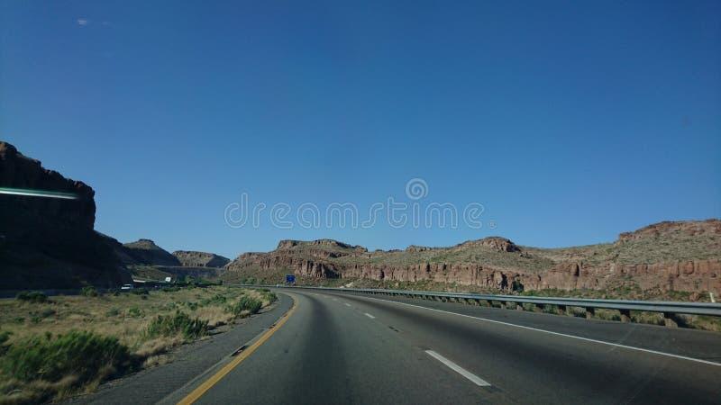 Någonstans i Arizona royaltyfria bilder